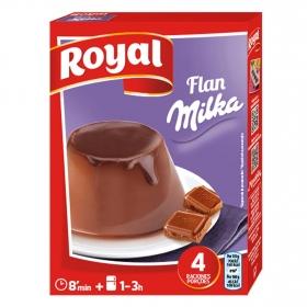 Preparado para flan Milka Royal 115 g.