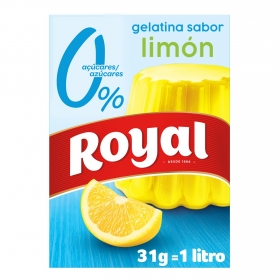 Gelatina light sabor limón Royal 31 g.