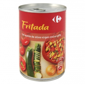 Fritada lata Carrefour 400 g.