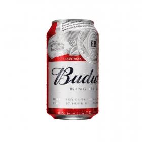 Cerveza Budweiser Lager lata 33 cl.