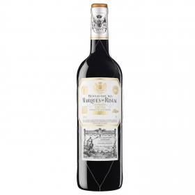 Vino tinto reserva Marqués de Riscal D.O.Ca Rioja 75 cl.