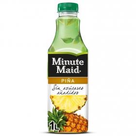 Zumo de piña Minute Maid sin azúcar añadido con stevia botella 1 l.