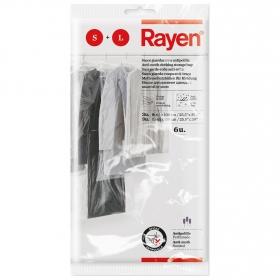 Sacos Guardar con Antipililla RAYEN 6 ud - Transparente