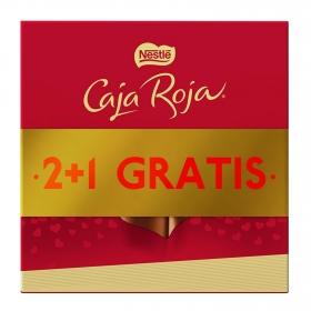 Bombones surtidos de chocolate Nestlé Caja Roja pack de 2 unidades de 100 g.