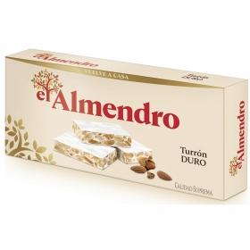 Turrón duro El Almendro 250 g.