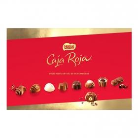 Bombones surtidos de chocolate Nestlé Caja Roja 88 ud.