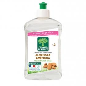Lavavajillas a mano almendra ecológico L'abre Vert 500 ml.