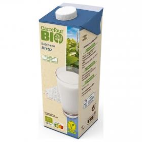 Bebida de arroz ecológica Carrefour Bio brik 1 l.
