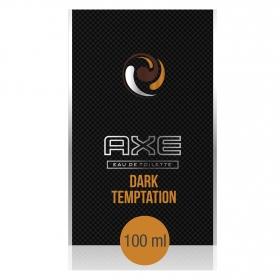 Agua de colonia Dark Temptation vaporizador Axe 100 ml.