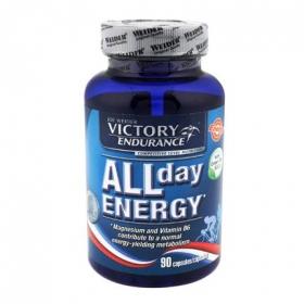 Complemento alimenticio All day Energy Victory Endurance 90 cápsulas.