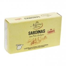 Sardinas en tomate De Nuestra Tierra 75 g.