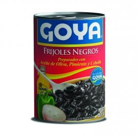 Frijoles negros Goya 425g.
