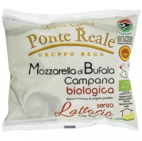 Queso Mozzarella de búfala ecológica campana S/lactosa Hispano Italiana 125 g