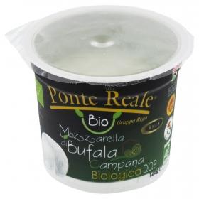 Queso Mozzarella de búfala ecológica campana Hispano Italiana 125 g