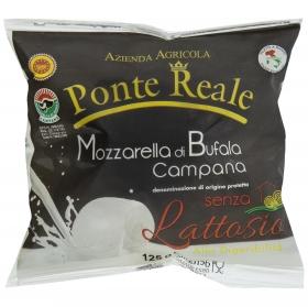 Queso Mozzarella de búfala campana S/lactosa Hispano Italiana 125 g