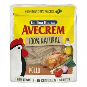 Caldo de pollos Avecrem sin gluten 10 pastillas