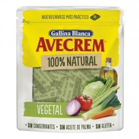 Caldo vegetal Avecrem sin gluten 10 pastillas