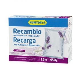 Antihumedad compacto limón recambio Humydry 450 g.