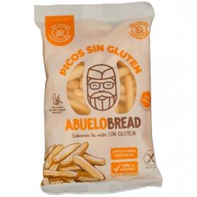 Picos artesanos Abuelobread sin gluten y sin lactosa 100 g.