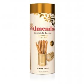 Palitos de turrón de caramelo a la sal El Almendro 16 ud.