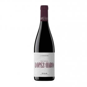 Vino D.O. Rioja tinto Garnacha Hacienda López de Haro 2017 75cl.