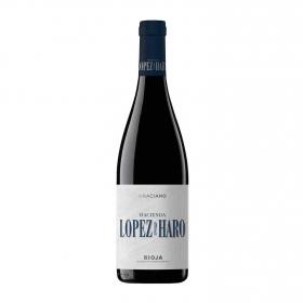 Vino D.O. Rioja tinto GracianoHacienda López de Haro 2017 75cl.