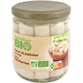 Corazones de palmito ecológico Carrefour Bio 250 g.