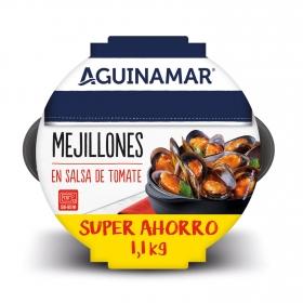 Mejillón en salsa de tomate Aguinamar 1,1 Kg
