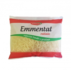 Queso rallado emmental Margui 400 g.