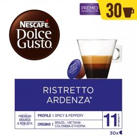 Café ristretto ardenza en cápsulas Nescafé Dolce Gusto 30 ud.