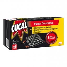 Insecticida cucarachas y huevos cebo Cucal 6 ud.