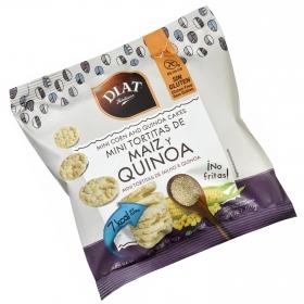Tortitas de maíz y quinoa Diet Radisson sin gluten 50 g.