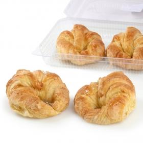 Croissant sin aditivos Carrefour envase 4 ud