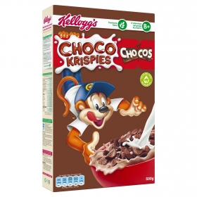 Cereales con chocolate Chocos Krispies Kellogg's 450 g.