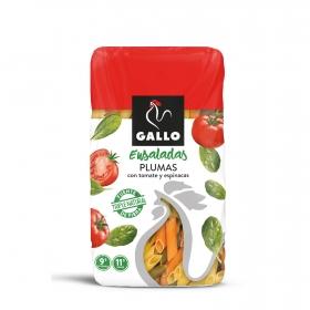 Plumas de tomate y espinacas especial ensaladas Gallo 450 g.