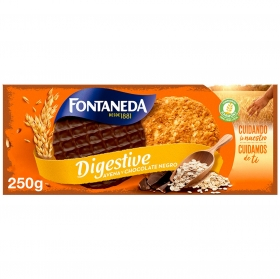 Galletas de avena con chocolate Fontaneda 250 g.