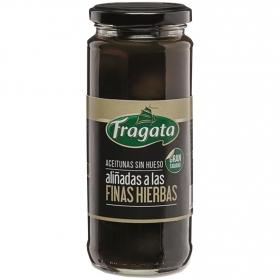 Aceitunas sin hueso aliñadas a las finas hierbas Fragata 163 g.