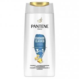 Champú Cuidado clásico 3 en 1 Pantene 675 ml.