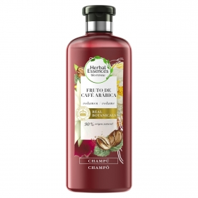 Champú café arábica ecológico Herbal Essences 400 ml.