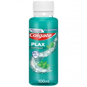 Enjuague bucal Plax soft Mint Colgate 100 ml.