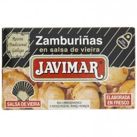 Zamburiñas es salsa de vieira Javimar 70 g.