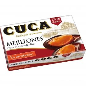 Mejillones en escabeche Cuca 115 g.