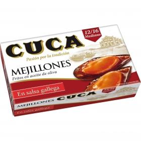Mejillones en salsa gallega Cuca 115 g.