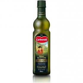 Aceite de oliva virgen extra regium Carbonell sabor frutado 750 ml.