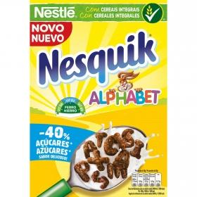 Cereales integrales Alphabet Nesquik Nestlé 325 g.