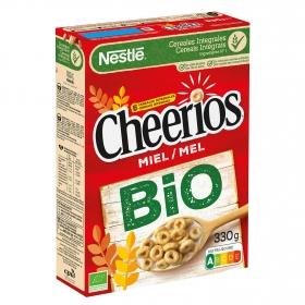 Cereales integrales con miel ecológicos Cheerios Nestlé 330 g.