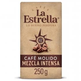 Café molido mezcla La Estrella 250 g.
