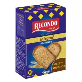 Pan tostado integral Recondo 270 g.