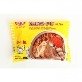 Fideos chinos con sabor a pollo Kung Fu 85 g.
