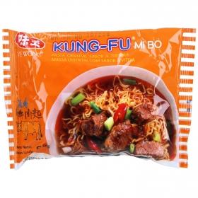 Fideos chinos con sabor a ternera Kung Fu 85 g.